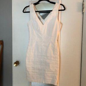 Bebe fitted mini dress